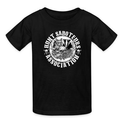 T-shirt enfant Hunt saboteurs association