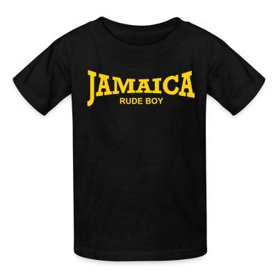 T-shirt enfant Jamaica rude boy