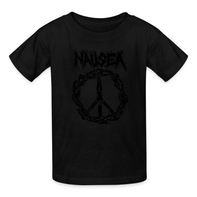 T-shirt enfant Nausea - Peace