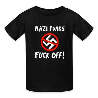 T-shirt enfant Nazi punks fuck off!