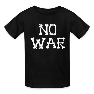 T-shirt enfant No war