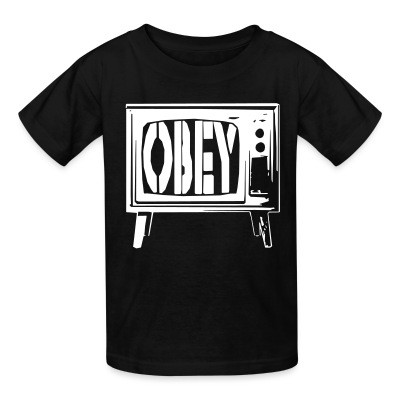 T-shirt enfant Obey TV