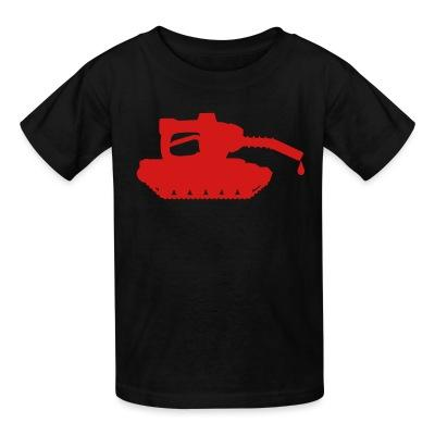 T-shirt enfant Oil war