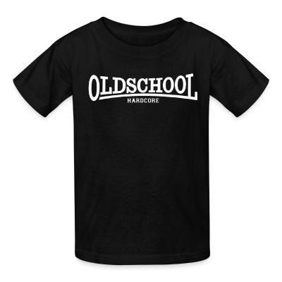 T-shirt enfant Oldschool hardcore
