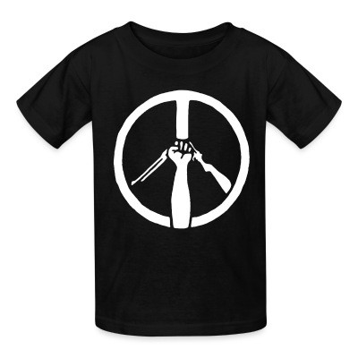 T-shirt enfant Peace Anti-Violence