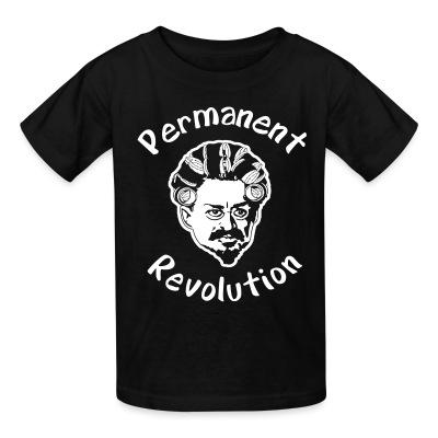 T-shirt enfant Permanent revolution