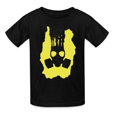 T-shirt enfant Pollution Gasmask