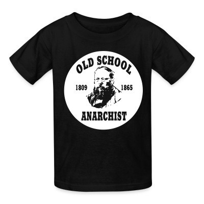 T-shirt enfant PROUDHON - Old school anarchist 1809-1865