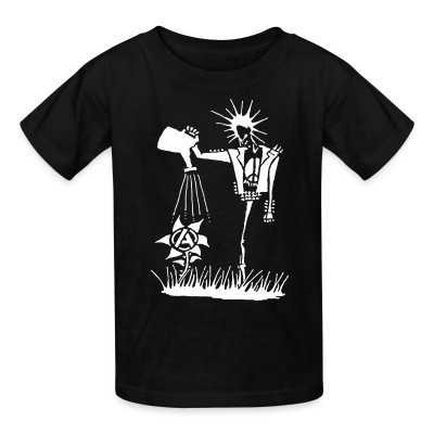 T-shirt enfant Punk planting the seeds of Anarchy
