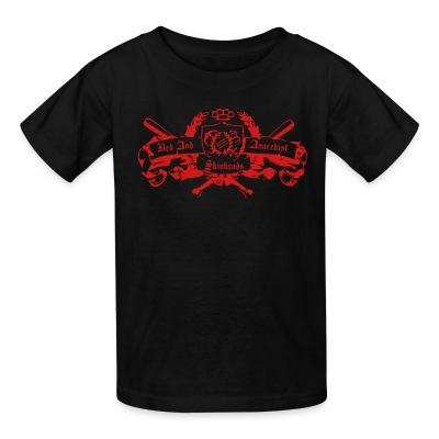 T-shirt enfant Red and anarchist skinheads