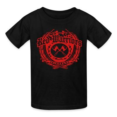 T-shirt enfant Red Warriors skinheads