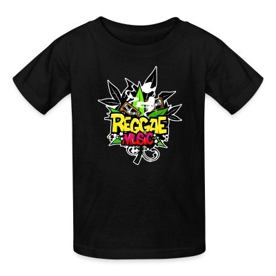 T-shirt enfant Reggae music