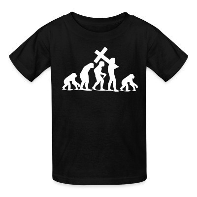 T-shirt enfant Religion Regression