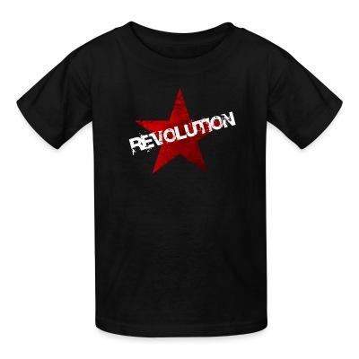 T-shirt enfant Revolution