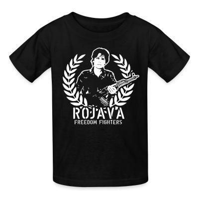 T-shirt enfant Rojava freedom fighters