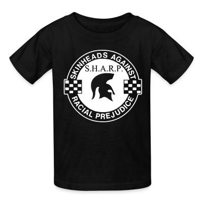 T-shirt enfant S.H.A.R.P. Skinheads Against Racial Prejudice