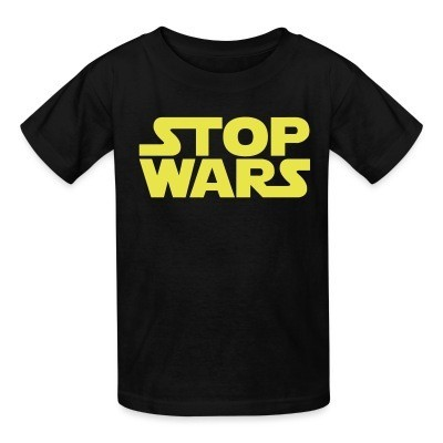 T-shirt enfant Stop Wars