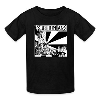 T-shirt enfant Subhumans - Religious wars