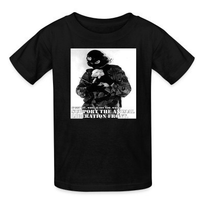 T-shirt enfant Support the animal liberation front