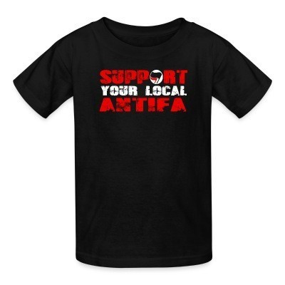 T-shirt enfant Support your local antifa