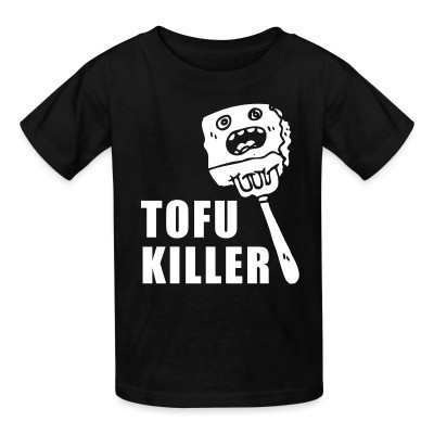 T-shirt enfant Tofu killer