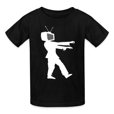 T-shirt enfant TV Zombie