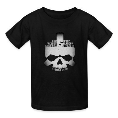 T-shirt enfant War is peace freedom is slavery ignorance is strength