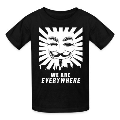 T-shirt enfant We are everywhere