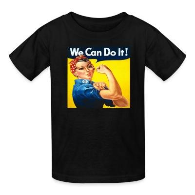T-shirt enfant We can do it! (Rosie The Riveter)