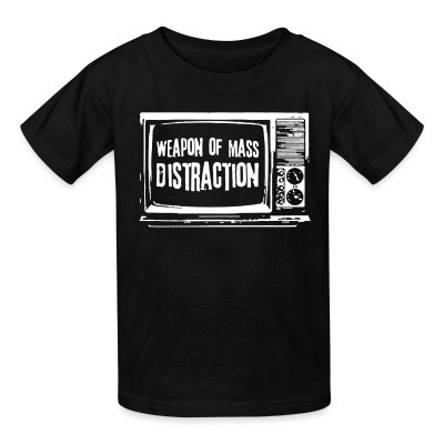 T-shirt enfant Weapon of mass distraction