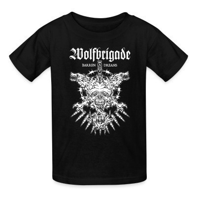 T-shirt enfant Wolfbrigade barren dreams