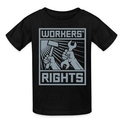T-shirt enfant Workers' rights