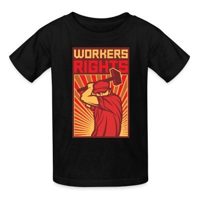 T-shirt enfant Workers rights