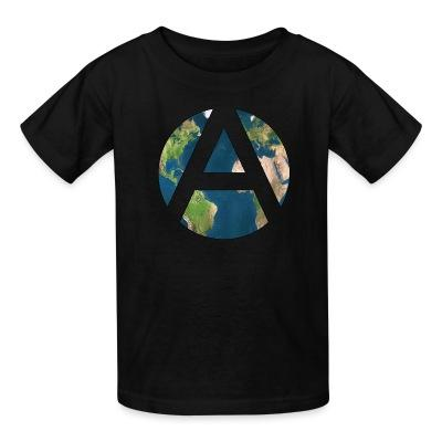 T-shirt enfant Worldwide Anarchism
