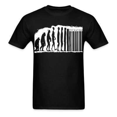 T-shirt Evolution barcode