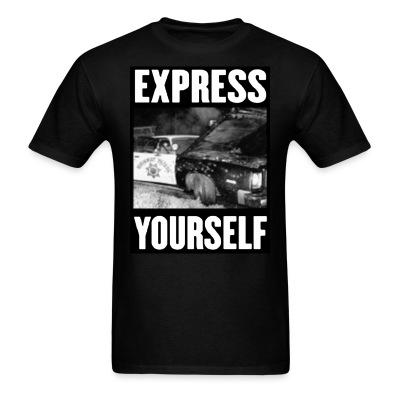 Express yourself Anti-police - ACAB - All cops are bastards - Repression - Police brutality - Fuck cops - Copwatch