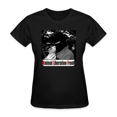 T-shirt féminin Animal Liberation Front