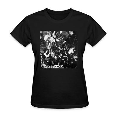 T-shirt féminin Discharge - Decontrol