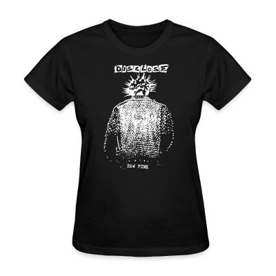 T-shirt féminin Disclose - raw punk