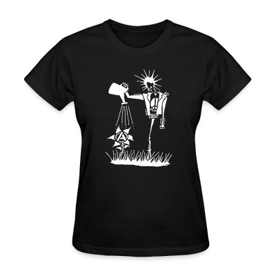 T-shirt féminin Punk planting the seeds of Anarchy