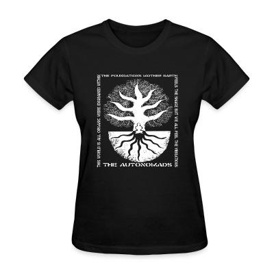 T-shirt féminin The Autonomads - The foundations mother earth