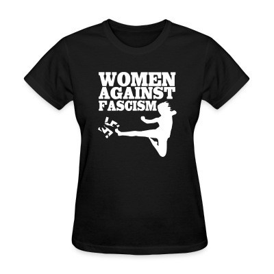 T-shirt féminin Women against fascism