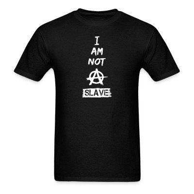 I am not a slave