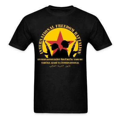 T-shirt International freedom battalion