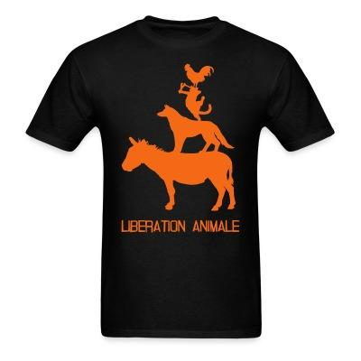 Libération animale Animal liberation - Vegetarian - Vegan - Anti-specism - Animal cruelty - Animal testing - Animal liberation front - ALF - Vivisection - Animal experim