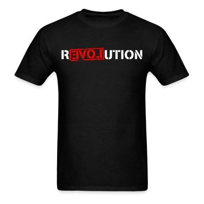 T-shirt Love Revolution