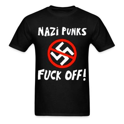 Nazi punks fuck off! Antifa - Anti-racist - Anti-nazi - Anti-fascist - RASH - Red And Anarchist Skinheads