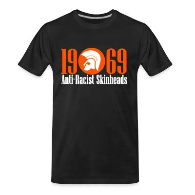 T-shirt organique 1969 anti-racist skinheads