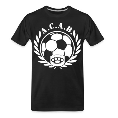 T-shirt organique A.C.A.B. Football