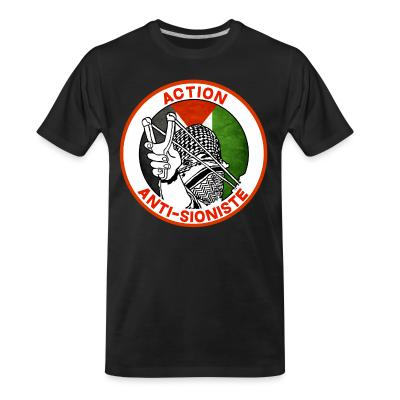T-shirt organique Action anti-sioniste
